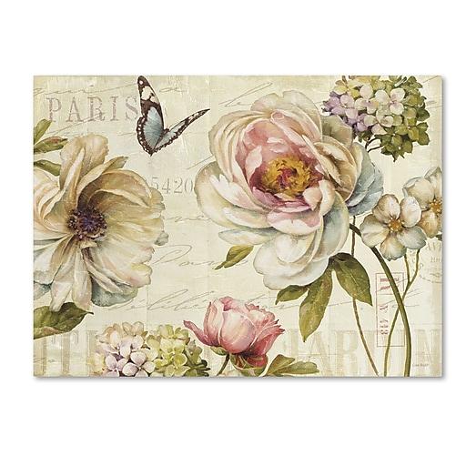 Trademark Fine Art Lisa Audit 'Marche de Fleurs IV'  18 x 24 (WAP0191-C1824GG)