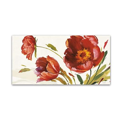 Trademark Fine Art Lisa Audit 'In the Wind'  12 x 24 (WAP0196-C1224GG)