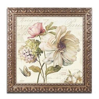 Trademark Fine Art Lisa Audit 'Marche de Fleurs II' 11 x 11 (WAP0200-G1111F)