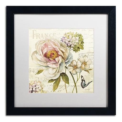 Trademark Fine Art Lisa Audit 'Marche de Fleurs III'  16 x 16 (WAP0201-B1616MF)
