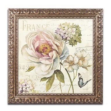 Trademark Fine Art Lisa Audit 'Marche de Fleurs III' 11 x 11 (WAP0201-G1111F)