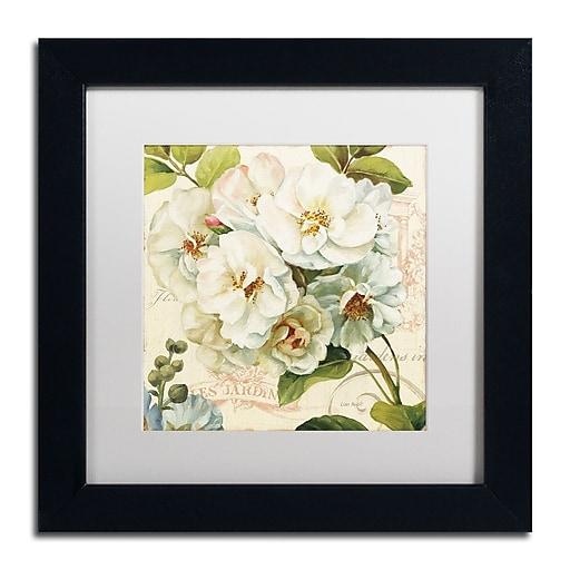 Trademark Fine Art Lisa Audit 'Les Jardin III'  11 x 11 (WAP0203-B1111MF)