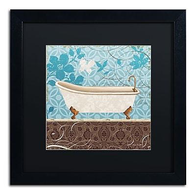 Trademark Fine Art Lisa Audit 'Eco Motif Bath I' 16 x 16 (886511708662)