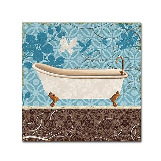 Trademark Fine Art Lisa Audit 'Eco Motif Bath I'  24 x 24 (WAP0204-C2424GG)