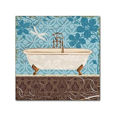 Trademark Fine Art Lisa Audit 'Eco Motif Bath II' 35 x 35 (WAP0205-C3535GG)