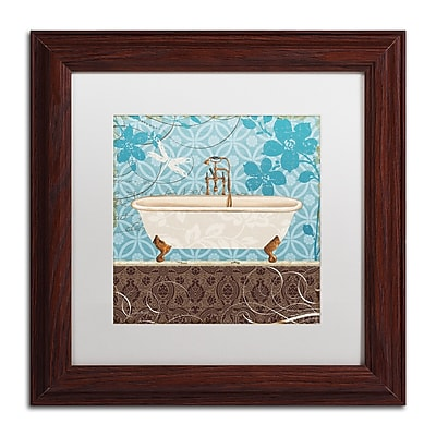 Trademark Fine Art Lisa Audit 'Eco Motif Bath II' 11 x 11 (WAP0205-W1111MF)