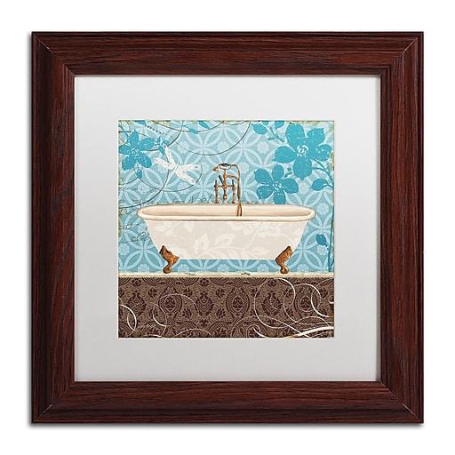 Trademark Fine Art Lisa Audit 'Eco Motif Bath II'  11 x 11 (WAP0205-W1111MF)