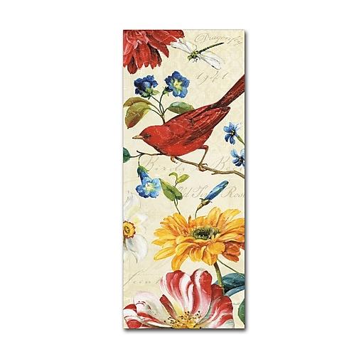 Trademark Fine Art Lisa Audit 'Rainbow Garden VII - Cream'  8 x 19 (WAP0207-C819GG)