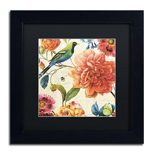 Trademark Fine Art Lisa Audit 'Rainbow Garden II - Cream'  11 x 11 (886511708891)