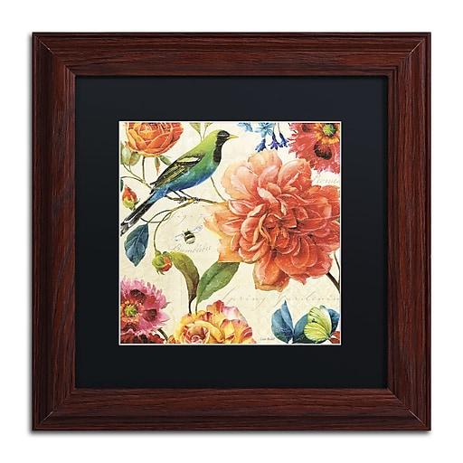 Trademark Fine Art Lisa Audit 'Rainbow Garden II - Cream'  11 x 11 (886511708976)