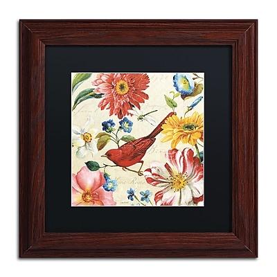 Trademark Fine Art Lisa Audit 'Rainbow Garden III - Cream' 11 x 11 (886511709072)