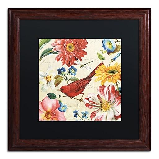 Trademark Fine Art Lisa Audit 'Rainbow Garden III - Cream'  16 x 16 (886511709089)