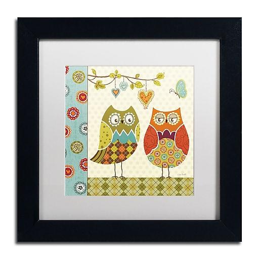 Trademark Fine Art Lisa Audit 'Owl Wonderful I'  11 x 11 (WAP0210-B1111MF)