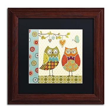 Trademark Fine Art Lisa Audit 'Owl Wonderful I' 11 x 11 (886511709157)