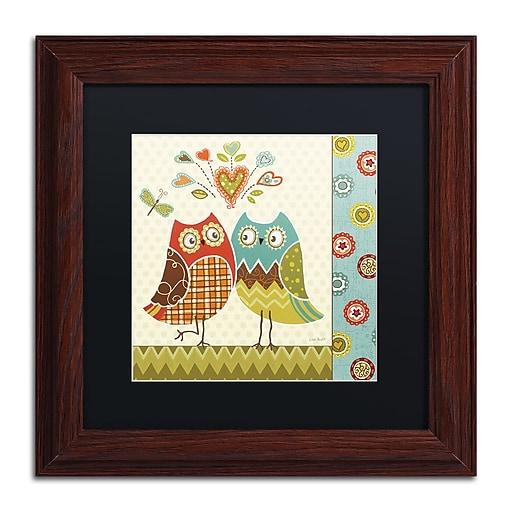 Trademark Fine Art Lisa Audit 'Owl Wonderful II'  11 x 11 (886511709232)