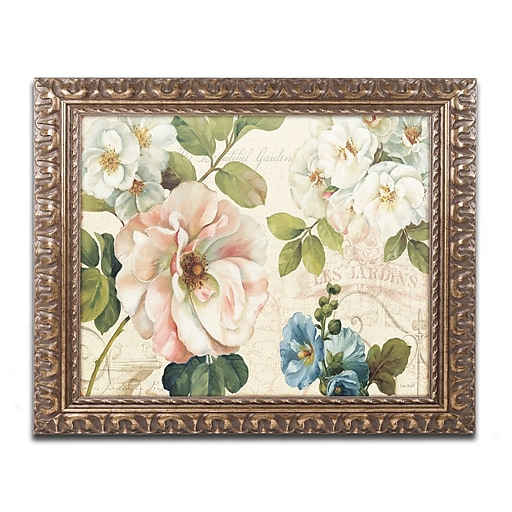Trademark Fine Art Lisa Audit 'Les Jardin I'  11 x 14 (WAP0212-G1114F)