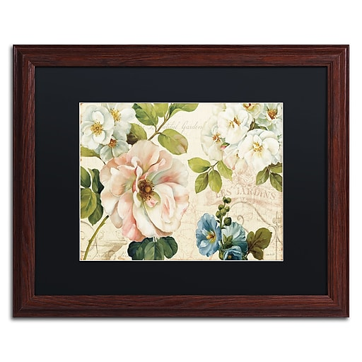 Trademark Fine Art Lisa Audit 'Les Jardin I'  16 x 20 (886511709348)