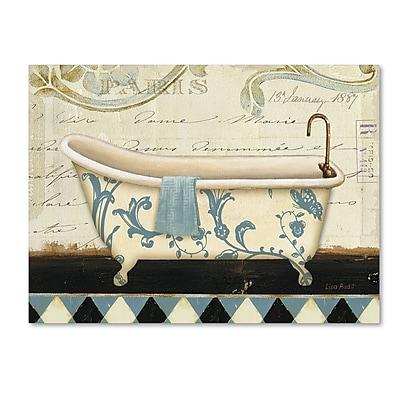 Trademark Fine Art Lisa Audit 'Marche de Fleurs Bath I' 24 x 32 (WAP0213-C2432GG)