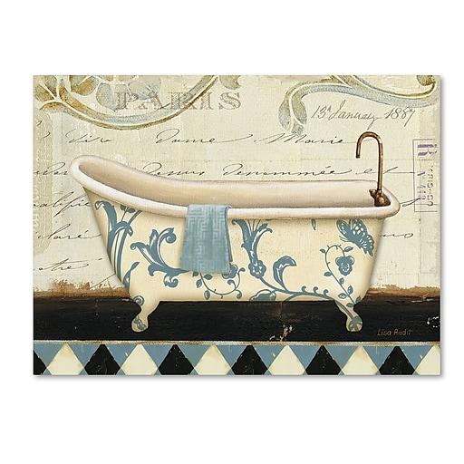 Trademark Fine Art Lisa Audit 'Marche de Fleurs Bath I'  18 x 24 (WAP0213-C1824GG)