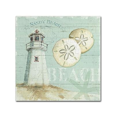 Trademark Fine Art Lisa Audit 'Beach House I' 24 x 24 (WAP0215-C2424GG)