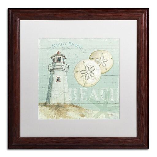 Trademark Fine Art Lisa Audit 'Beach House I'  16 x 16 (WAP0215-W1616MF)
