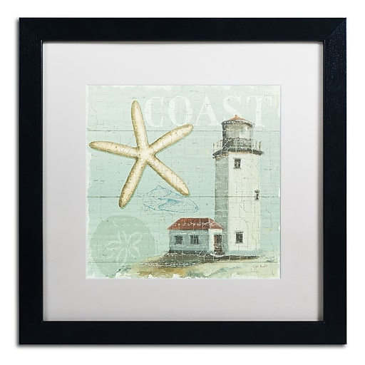 Trademark Fine Art Lisa Audit 'Beach House II'  16 x 16 (WAP0216-B1616MF)