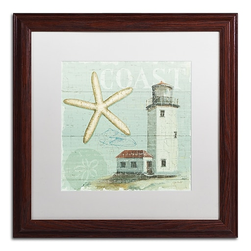Trademark Fine Art Lisa Audit 'Beach House II'  16 x 16 (WAP0216-W1616MF)