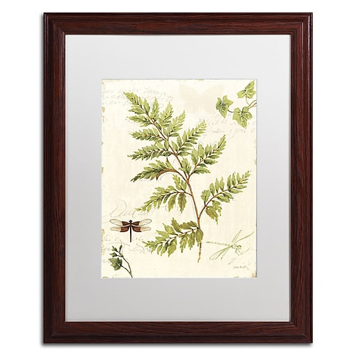 Trademark Fine Art Lisa Audit 'Ivies and Ferns I'  16 x 20 (WAP0217-W1620MF)