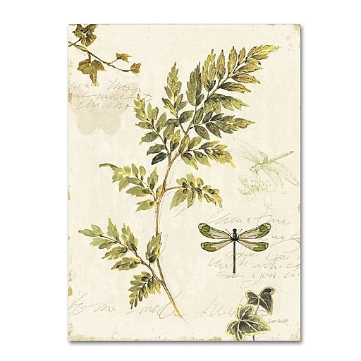 Trademark Fine Art Lisa Audit 'Ivies and Ferns III'  18 x 24 (WAP0219-C1824GG)
