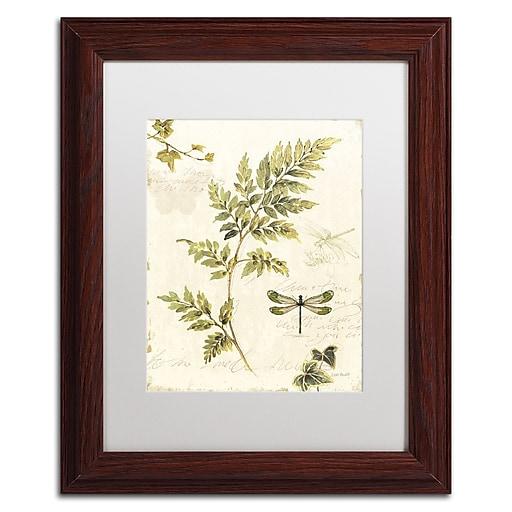 Trademark Fine Art Lisa Audit 'Ivies and Ferns III'  11 x 14 (WAP0219-W1114MF)