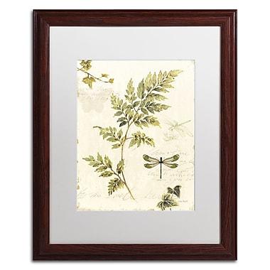Trademark Fine Art Lisa Audit 'Ivies and Ferns III' 16 x 20 (WAP0219-W1620MF)