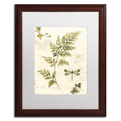 Trademark Fine Art Lisa Audit 'Ivies and Ferns III'  16 x 20 (WAP0219-W1620MF)