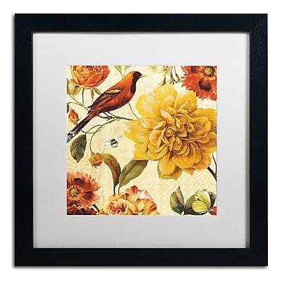 Trademark Fine Art Lisa Audit 'Rainbow Garden Spice II' 16 x 16 (WAP0225-B1616MF)