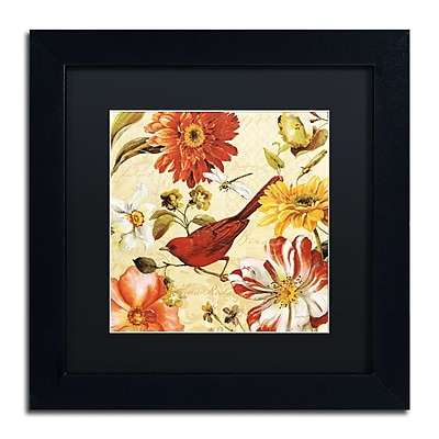Trademark Fine Art Lisa Audit 'Rainbow Garden Spice III' 11 x 11 (886511710535)