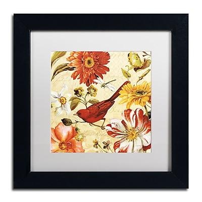 Trademark Fine Art Lisa Audit 'Rainbow Garden Spice III' 11 x 11 (WAP0226-B1111MF)