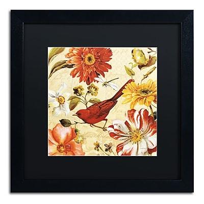 Trademark Fine Art Lisa Audit 'Rainbow Garden Spice III' 16 x 16 (886511710559)