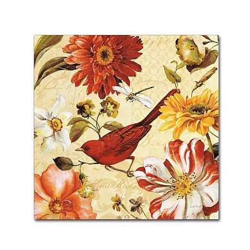 Trademark Fine Art Lisa Audit 'Rainbow Garden Spice III'  18 x 18 (WAP0226-C1818GG)