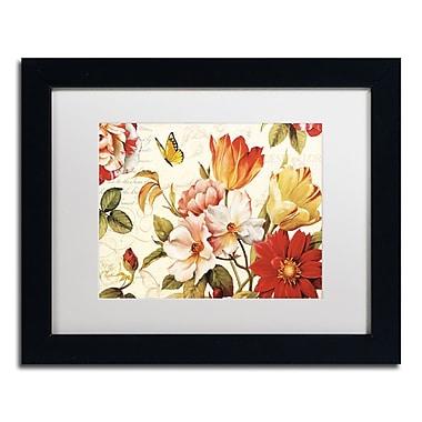 Trademark Fine Art Lisa Audit 'Poesie Florale III' 11 x 14 (WAP0227-B1114MF)