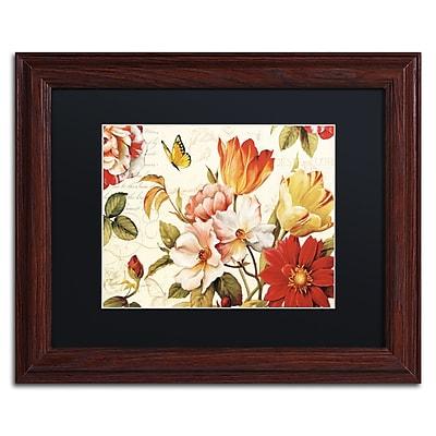 Trademark Fine Art Lisa Audit 'Poesie Florale III' 11 x 14 (886511710719)