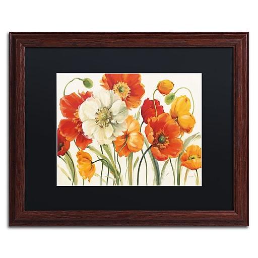 Trademark Fine Art Lisa Audit 'Poppies Melody I'  16 x 20 (886511710900)