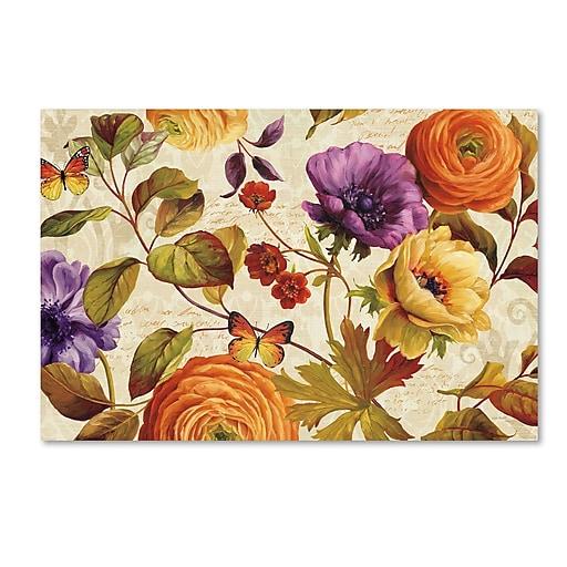 Trademark Fine Art Lisa Audit 'End of Summer I'  22 x 32 (WAP0230-C2232GG)
