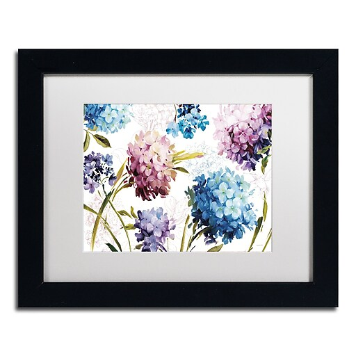 Trademark Fine Art Lisa Audit 'Spring Nectar I - Laurie'  11 x 14 (WAP0235-B1114MF)