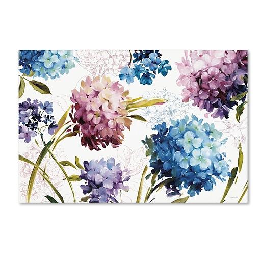 Trademark Fine Art Lisa Audit 'Spring Nectar I - Laurie'  12 x 19 (WAP0235-C1219GG)