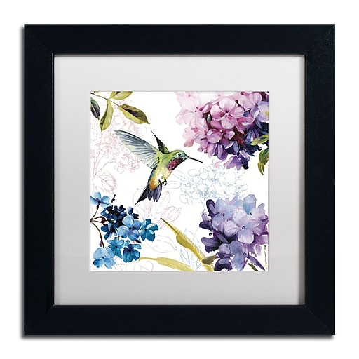Trademark Fine Art Lisa Audit 'Spring Nectar Square II'  11 x 11 (WAP0236-B1111MF)