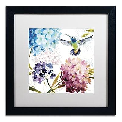 Trademark Fine Art Lisa Audit 'Spring Nectar Square III' 16 x 16 (WAP0237-B1616MF)