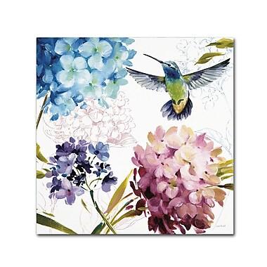 Trademark Fine Art Lisa Audit 'Spring Nectar Square III' 24 x 24 (WAP0237-C2424GG)