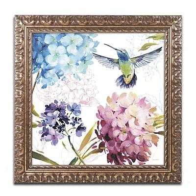 Trademark Fine Art Lisa Audit 'Spring Nectar Square III' 16 x 16 (WAP0237-G1616F)
