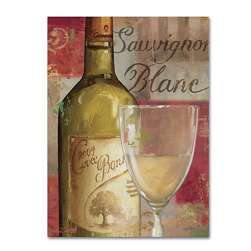 Trademark Fine Art Lisa Audit 'Vin Abstract II'  18 x 24 (WAP0242-C1824GG)