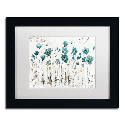 Trademark Fine Art Lisa Audit 'Abstract Balance VI Blue' 11 x 14 (WAP0246-B1114MF)