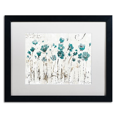 Trademark Fine Art Lisa Audit 'Abstract Balance VI Blue' 16 x 20 (WAP0246-B1620MF)